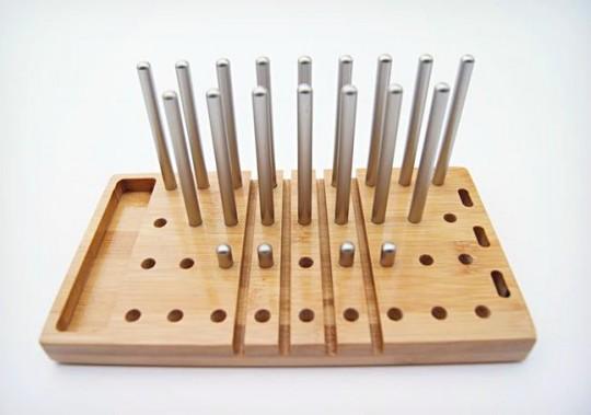 Modo, organiseur de bureau en bois modulaire