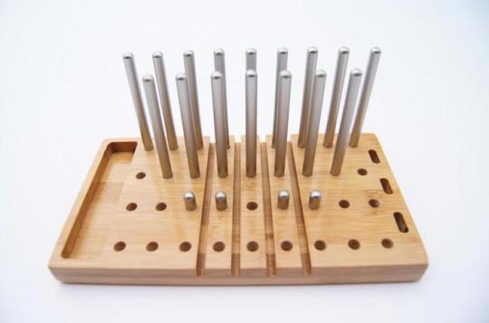 Modo : Organiseur de bureau modulable en bambou