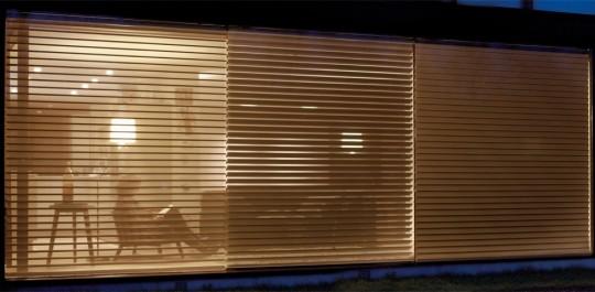 Store contemporain Luxaflex Silhouette