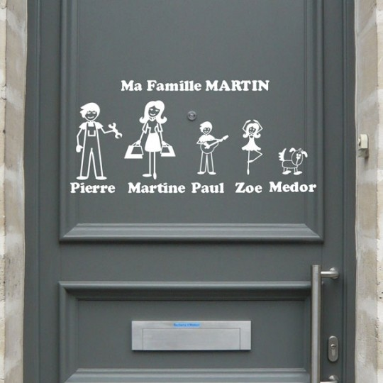 Zousticks les stickers avatars l 39 image de votre famille for A la porte de l eternite