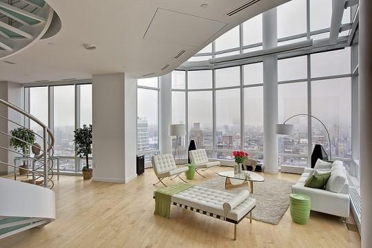 Penthouse en duplex avec vue sur Manhattan par Marie Burgos
