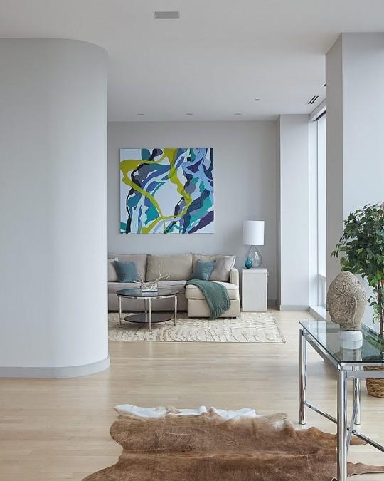 Penthouse au coeur de Manhattan restylé par Marie Burgos