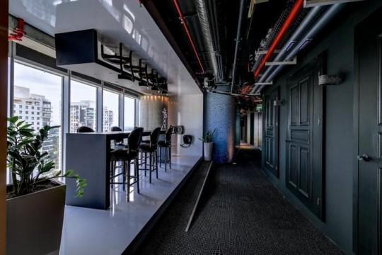 Les bureaux de Google à Tel Aviv : restaurant
