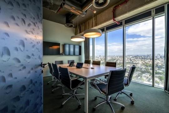 Les bureaux de Google à Tel Aviv : Salle de réunion