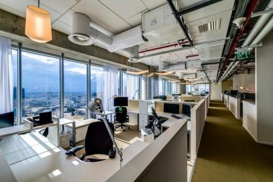 Les bureaux de Google à Tel Aviv : bureaux design