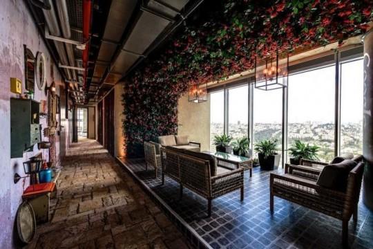 Les bureaux de Google à Tel Aviv : Déco futuriste