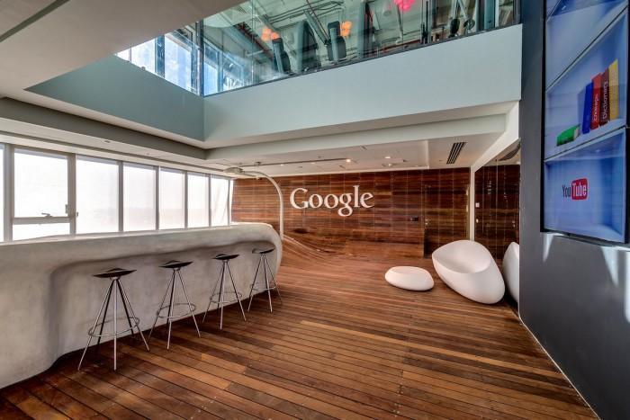 Les bureaux de Google à Tel Aviv (Israel)
