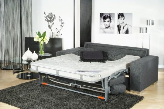 Canapé convertible avec un lit confortable Triomphe