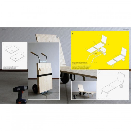 DIY Furniture : Guide pour fabriquer vous-même un transat design