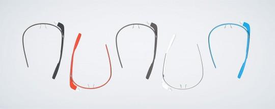Les lunettes Google Glass sont disponibles en plusieurs couleurs