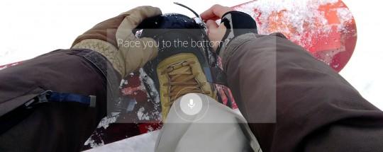 Envoyer un message en parlant avec les lunettes Google Glass