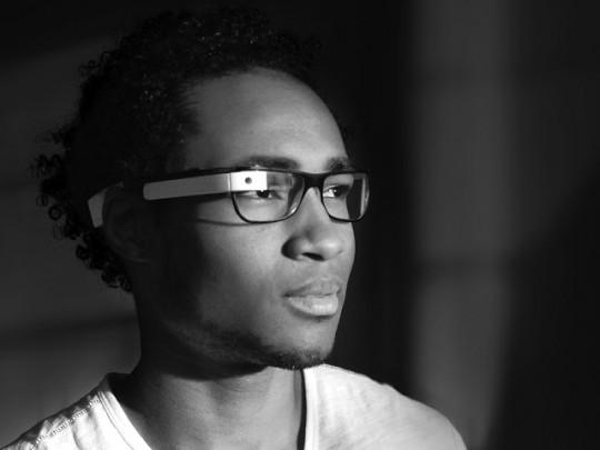 Google Glass sur des lunettes optiques classiques