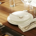 Assiettes blanches Ikea collection Stockholm