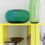 Vases Ikea en verre soufflé bouche collection Stockholm