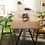 Table Ikea Stockhom plaqué noyer - 599 euros