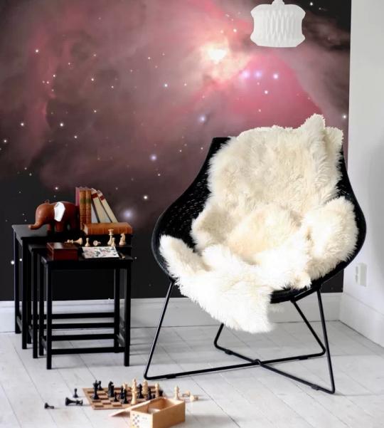 Papier-peint grand format étoiles dans l'espace (Pixers)