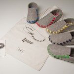 Lasso : La pantoufle à assembler avec un lacet