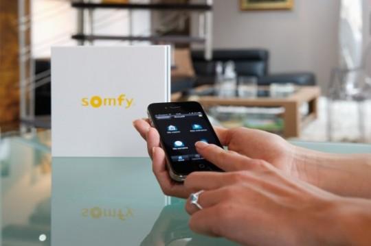 Domotique Somfy sur votre iPad