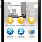 Ecran d'accueil de l'application iphone Eclisse