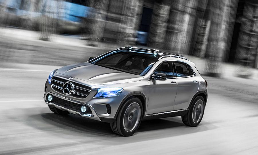 Concept car Mercedes Benz GLA