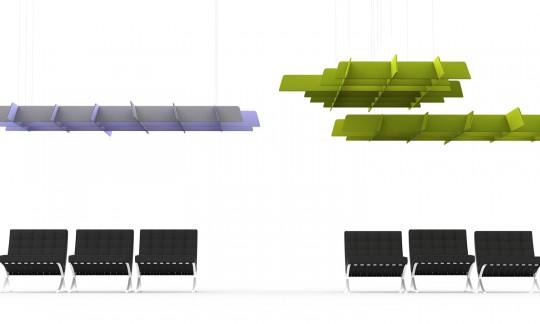 Buzzigrid, la grille acoustique du designer Alain Gilles