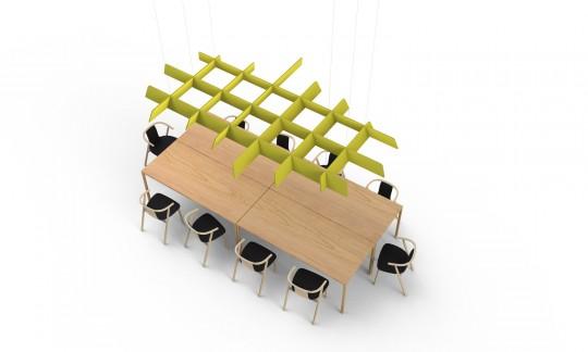 Buzzigrid, grille acoustique design