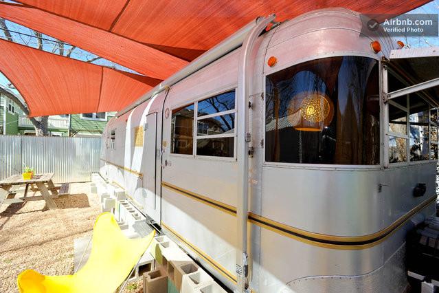 Caravane à louer à Austin Texas sur Airbnb