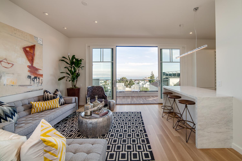 maison victorienne avec vue sur san francisco. Black Bedroom Furniture Sets. Home Design Ideas
