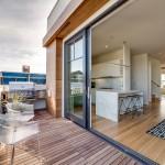 Maison Victorienne moderne avec terrasse panoramique sur San Francisco