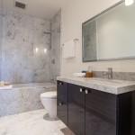 Salle de bain dans une maison Victorienne à San Francisco