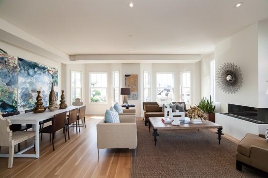 Visite d 39 une maison edwardienne avec toit terrasse et vue for Voir decoration interieur maison