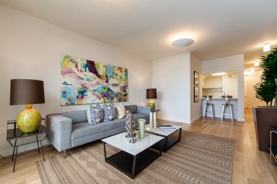 Salon d'une maison Edwardienne à San Francisco