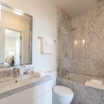 Salle de bain dans une maison Edwardienne à San Francisco