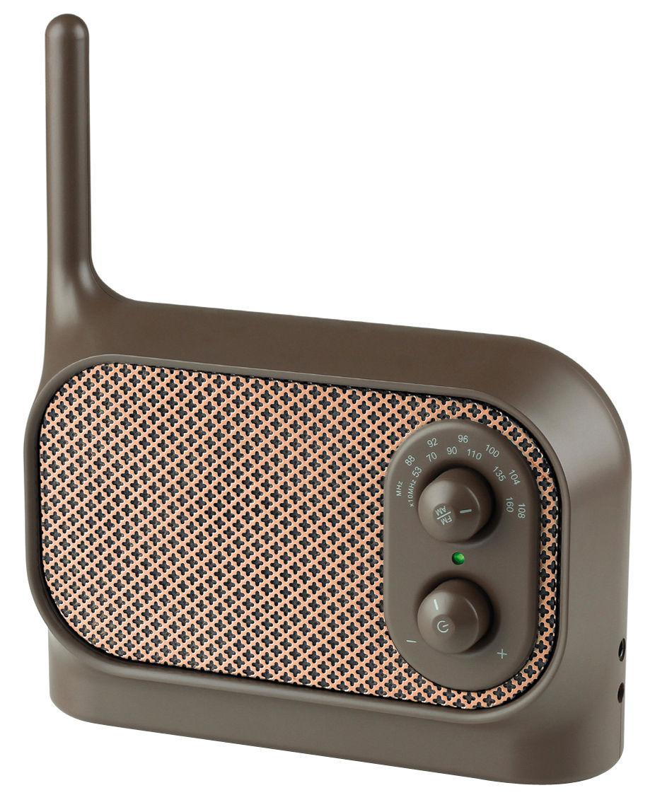 Radio Mezzo Lexon marron