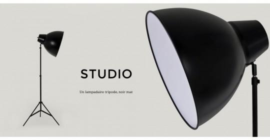 Lampe Studio, luminaire studio photo des années 30