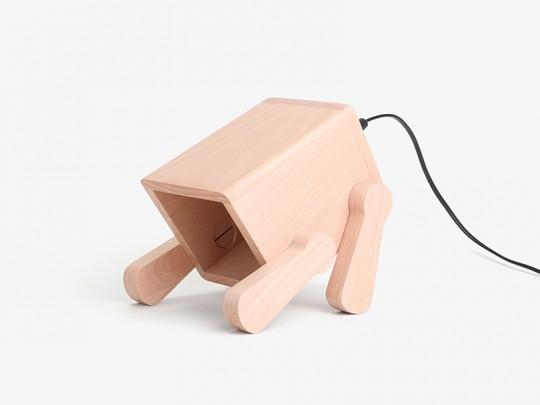 Franck le chiot - lampe de bureau