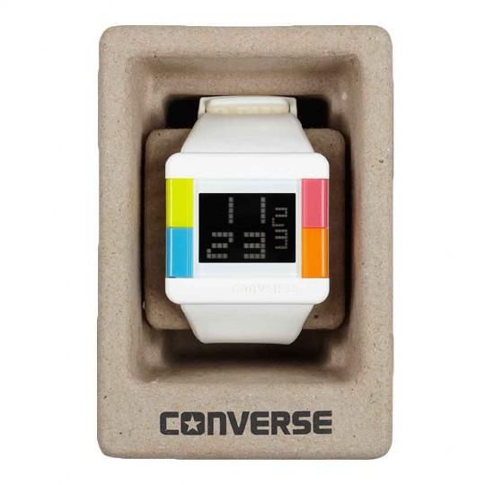 Montre High Score Converse dans sa boite en carton recyclé