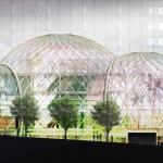 3 dômes de verre futuriste : Le nouveau siège d'Amazon à Seattle