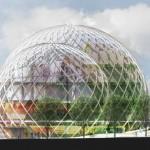 3 domes de verres géants : Nouveau siège d'Amazon à Seattle