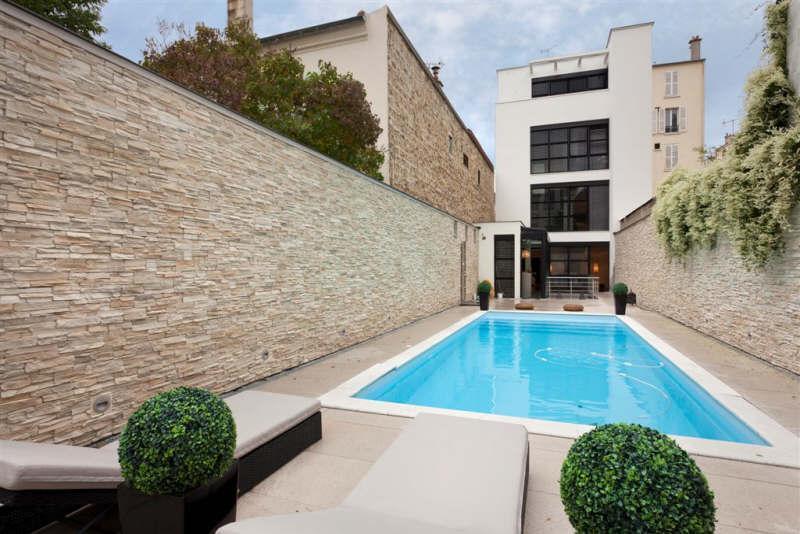 Villa contemporaine avec piscine courbevoie for Piscine courbevoie