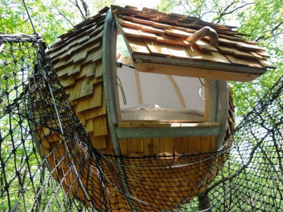 cabane ronde lov nid. Black Bedroom Furniture Sets. Home Design Ideas