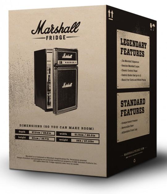 Marshall Fridge - carton du réfrigérateur Marshall
