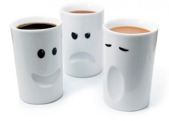 Mood Mugs des mugs en fonction de votre humeur du jour