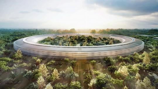 Nouveau siège Apple Spaceship Campus