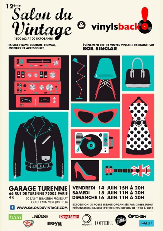 Salon du vintage - 12ème édition - Juin 2013