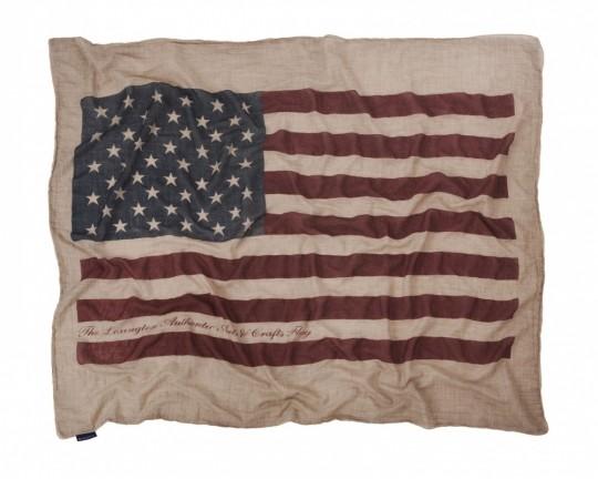 jeté de canapé drapeau américain Lexington