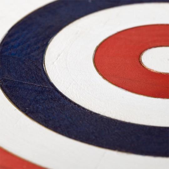 The Belgian dart set jeu de fléchettes