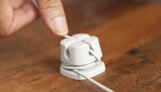 Ancre à câbles - La solution anti-fils qui s'emmelent