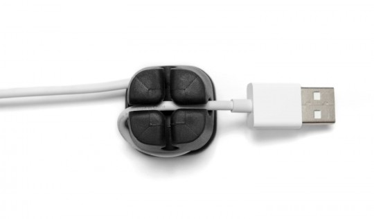 Ancre pour éviter l'emmêlage des cables sur votre bureau
