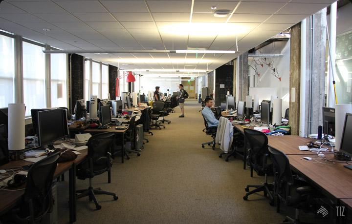 Dropbox office open space